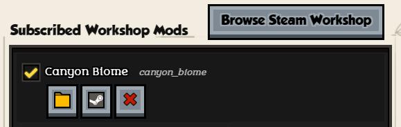 Steam Workshop mods